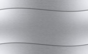 Wavy Metal Background