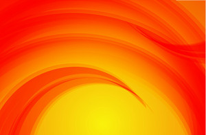 Wavy Orange Background