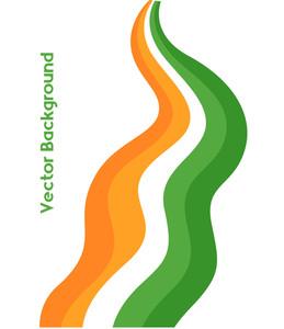 Wavy Patrick's Day Rainbow