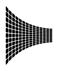 Wavy Squares Graphic Design