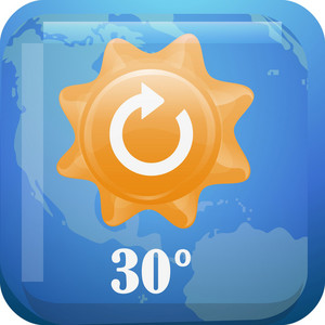 Weather 2 Tiny App Icon