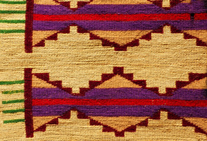 Weave Mat Vintage Pattern