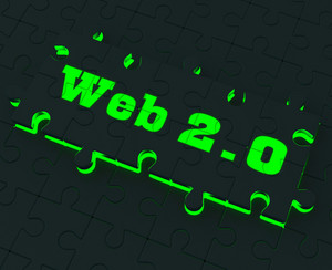 Web 2.0 Puzzle Shows Social Networking