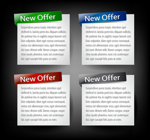Web Banners Vector Illustration
