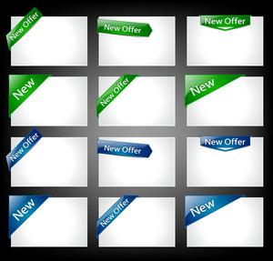 Web Banners Vector Illustration
