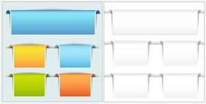 Web Banners Vectors