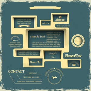 Web Design In Retro Style
