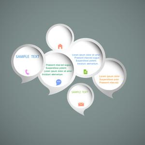 Web Design Speech Bubbles