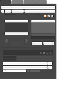 Web Elements 3 Vector