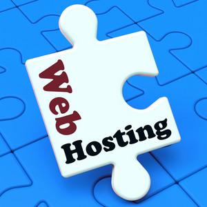 Web Hosting Shows Website Domain