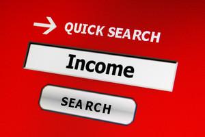 Web Income Concept