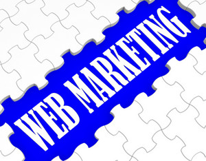 Web Marketing Puzzle Shows Internet Sales