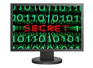 Web Secret Concept