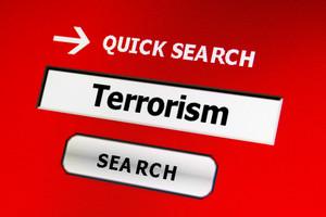 Web Terrorism Concept