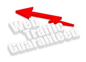 Web Traffic Guaranteed Banner