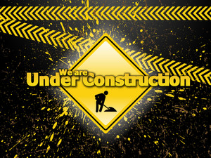 Web Under Construction Template Design