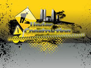 Website Construction Background