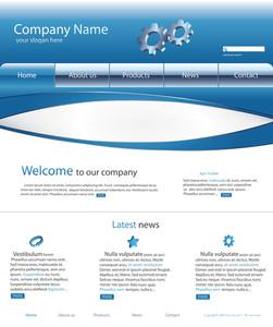 Website Layout Comp