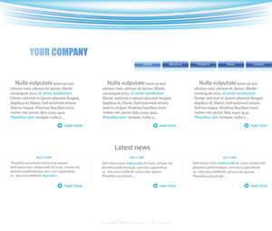 Website Layout Comp