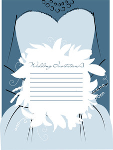 Wedding Bouquet As A Background For Text-