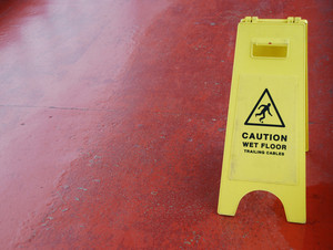 Wet Floor Sign