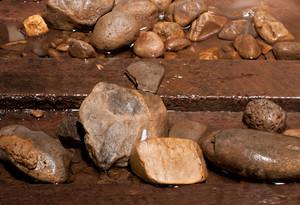 Wet Rocks Stone