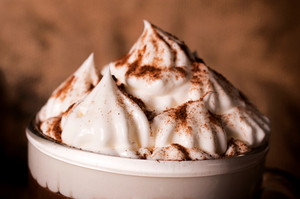 Whipped Cream With Cocoa