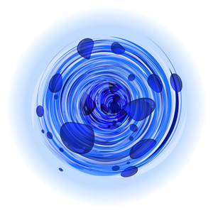 Whirlpool. Vector.