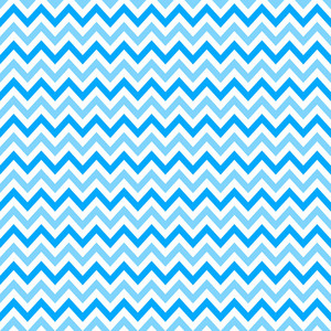 White And Blue Chevron Pattern On Mickey Paper