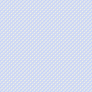 White And Blue Retro Polka Dots Pattern