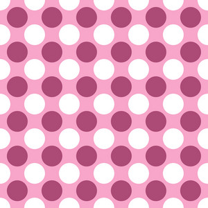 White And Purple Polka Dots Pattern