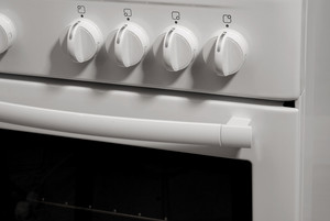 White Freestanding Gas Cooker