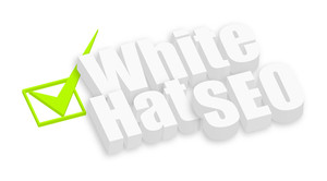 White Hat Seo 3d Text