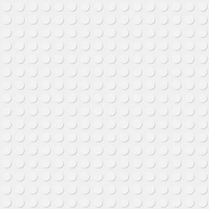 White Lego Pattern