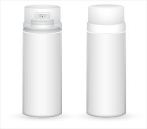White Perfume Bottles