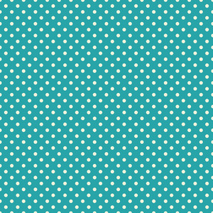 White Polka Dot Circus Pattern On A Blue Background
