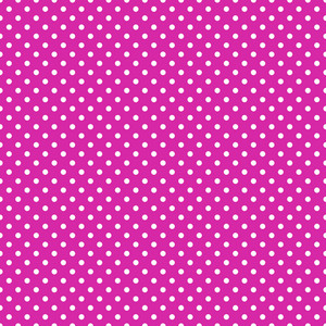 White Polka Dot Pattern On Purple Frozen Inspired Paper