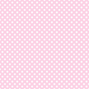 White Polka Dots Pattern On A Light Purple Background