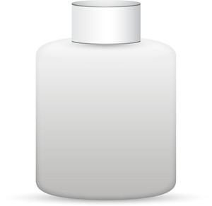 White Product Bottle