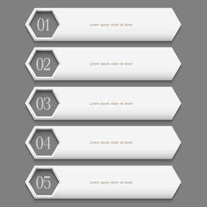 White Stylish  Design Template