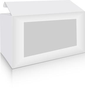 White Vintage Box
