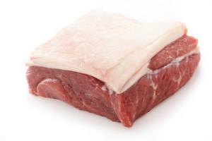 Whole Steak Isolated