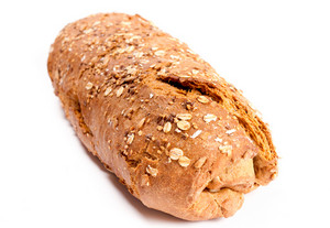 Wholemeal Bread Isolated