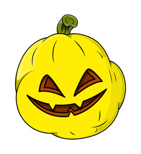 Wicked Smiling Jack O' Lantern