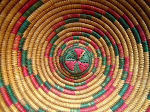 Wicker Design Background