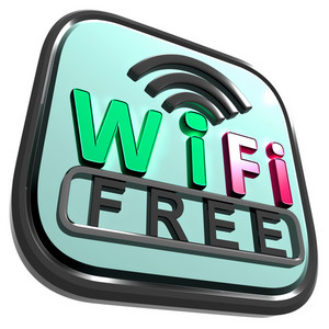Wifi Free Internet Shows Wireless Connecting