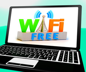 Wifi Free On Laptop Shows Free Connection