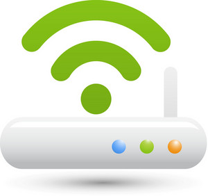 Wifi White Lite Computer Icon