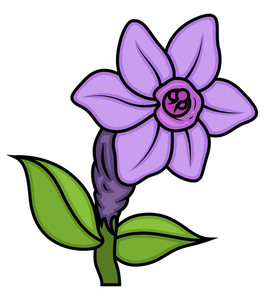 Wild Flower Design Vector