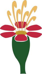 Wild Flower Vector Element